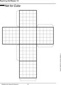 printable net surface area planifica 231 227 o do cubo podes
