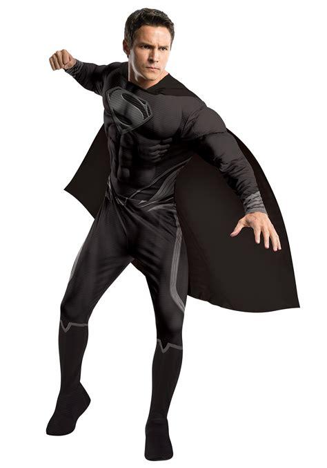 superman costume black suit superman costume