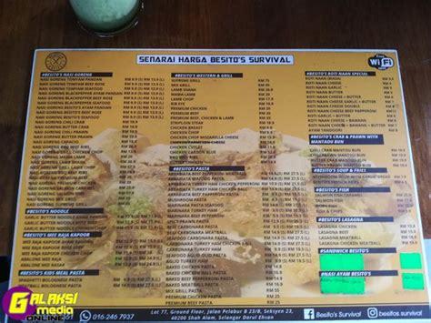 Harga Makanan Survival by Semasa Citarasa Mewah Harga Berpatutan Di Besito S