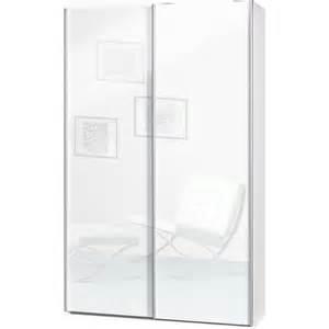 armoire penderie 232 re 2 portes coulissantes profondeur