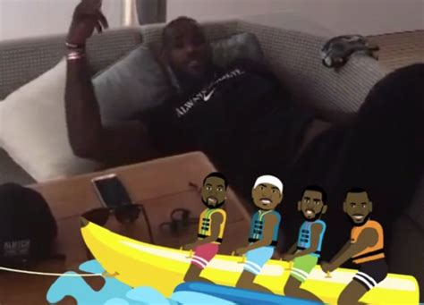 banana boat lebron cp3 lebron wade cp3 melo are back with banana boat larry