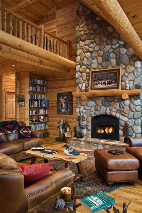 aisle home envy log cabin interiors