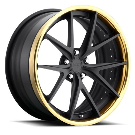 matte gold niche forged misano wheels socal custom wheels