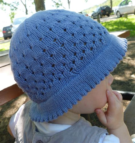 child knit hat pattern baby hats with brims knitting patterns in the loop knitting