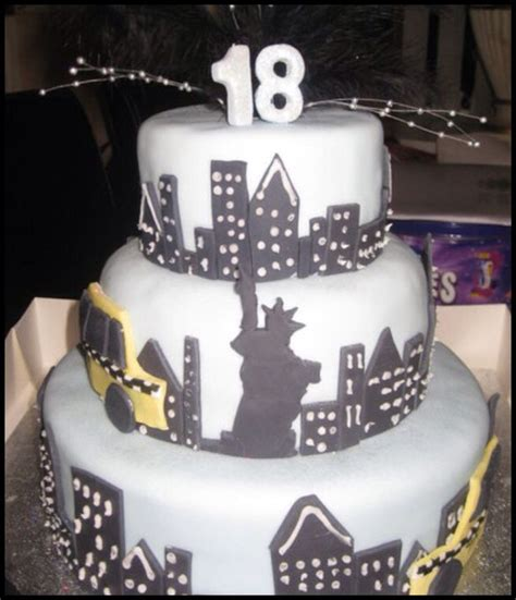 New York Themed Cake Decorations by 17 Best Images About Cake Ideas On