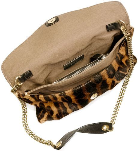 Jcrew Gillian Calf Hair Bag by J Crew Invitation Clutch In Printed Calf Hair In Brown