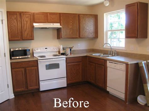 painting oak kitchen cabinets before and after dress my home painting your kitchen cabinets
