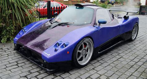 A Frame Home Kit Pagani Zonda Replica Made From Scrap And Powered By Audi