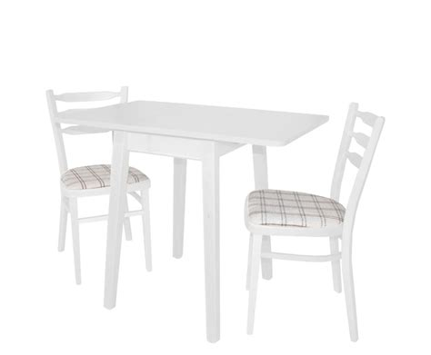 Small Drop Leaf Table And Chairs Small Rectangular Wood Drop Leaf Dining Table With 2 Chairs And Fabric Seats Painted With
