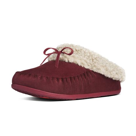 fitflops slippers fitflop fitflop the cuddler snugmoc slipper in premium