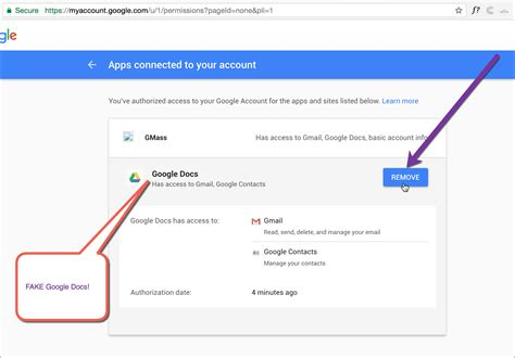 gmail reset token beware of new google docs scam gmass blog