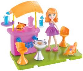 Polly pocket stick n play lea patio party playset free shipping