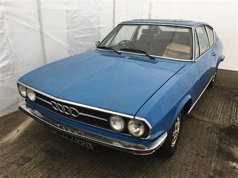 Audi 100 Coupé S by 1974 Audi 100 Coupe S In For Restoration Bridge