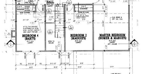 Simpsons House Blueprint The Simpsons Pinterest Blueprint Of Simpsons House