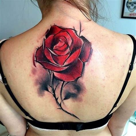 rose 3d tattoo 17 best ideas about back tattoos on