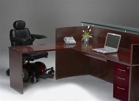 Accessible Reception Desk Napoli Wheelchair Accessible Ada Compliant Reception Desk Nrslba By Mayline