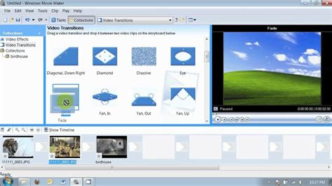 movie maker 2 6 tutorial downloading effects and trans windows movie maker 2 6 for digital storytellers youtube