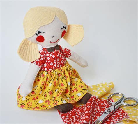 Handmade Stuffed Dolls - handmade stuffed doll binski s studio