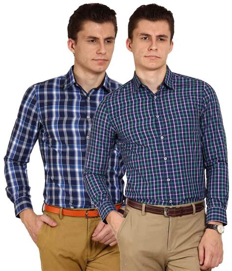 T Shirt Brookyln Bank Diskon blues modish pack of 2 multicoloured sleeve