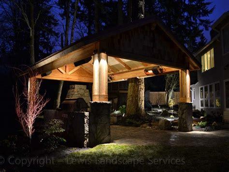 Outdoor Lighting Portland Lewis Landscape Services Landscape Lighting Portland Oregon Outdoor Lighting