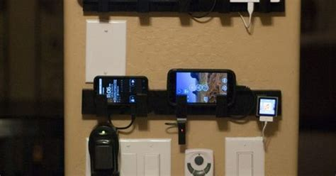 i made a wall mounted device charging station out of some i made a wall mounted device charging station out of some