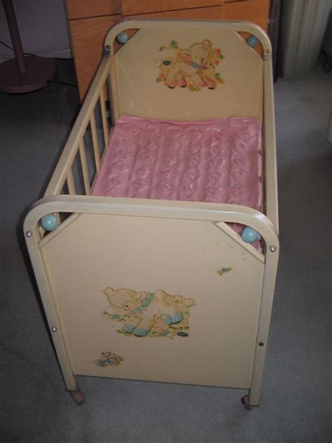 Antique Dolls 1950 For Sale Antiques Village Shop Vintage Baby Cribs For Sale