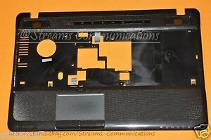 toshiba satellite a665 series laptop palmrest w touchpad k000105540 a665 s6070 705422657893 ebay