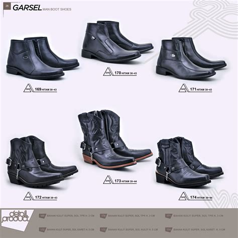 Sepatu Boot Garsel garsel sepatu garsel sepatu safety boots