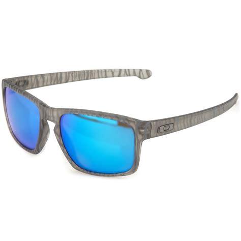 light blue lens sunglasses oakley silver grey frame light blue lens sunglasses