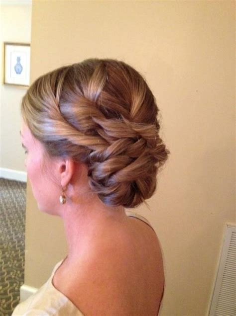 Wedding Hair Side Bun Pictures by Wedding Side Bun Updos Beautiful Wavy Bridal Updos