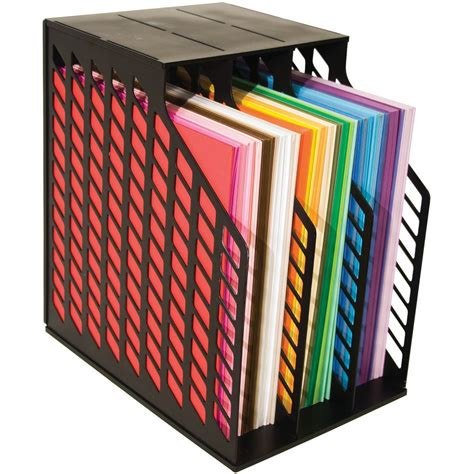 paper rack scrapbooking vertical 12x12 paper storage solutions kat