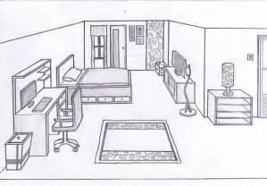room layout drawing bedroom sketch 1 0 by cornerart jpg 809 215 565 room