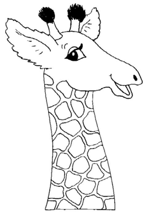 imagenes jirafas para colorear jirafa para colorear