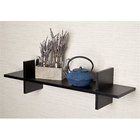 Black Decorative Wall Shelves Top 16 Black Floating Wall Shelves Of 2016 2017 Review