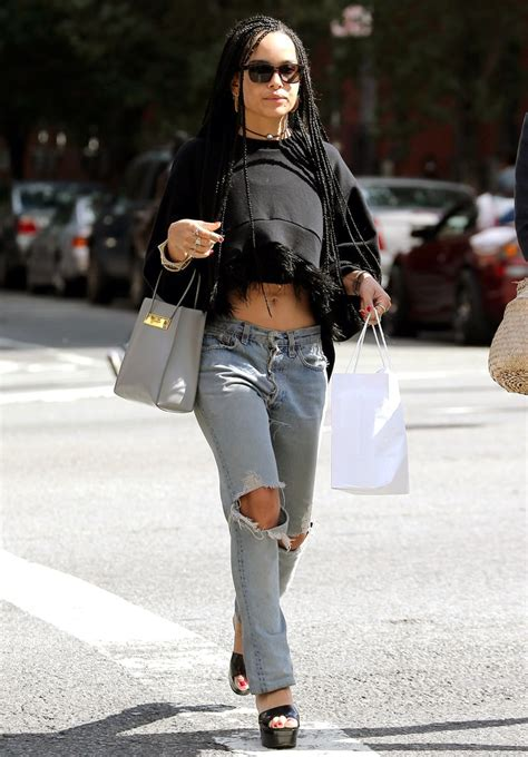 zoe kravitz casual outfits picture of zoe kravitz