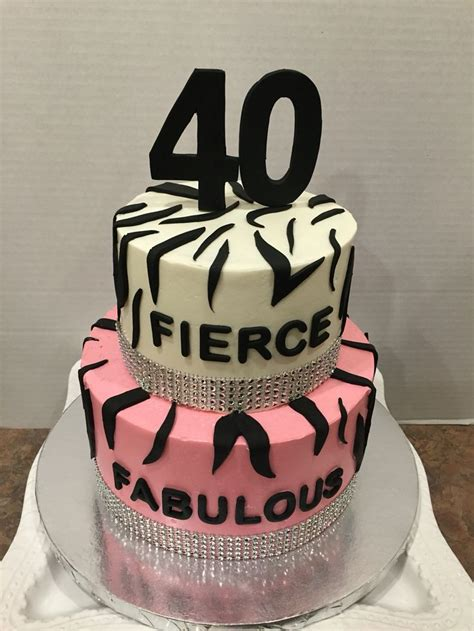 birthday fierce fabulous  forty  bday    birthday cupcakes