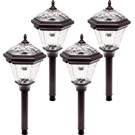 Westinghouse Adonia Aluminum Solar Led Pathway Path Light Solar Lights Pathway