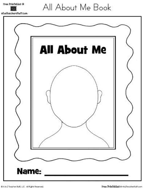 all about me book template all about me book for preschool preschool items juxtapost