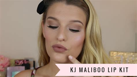 Lip Kit Maliboo maliboo lip kit demo and review