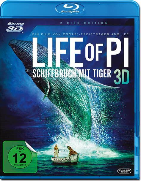 gute 3d filme für zuhause of pi schiffbruch mit tiger 3d 2 discs