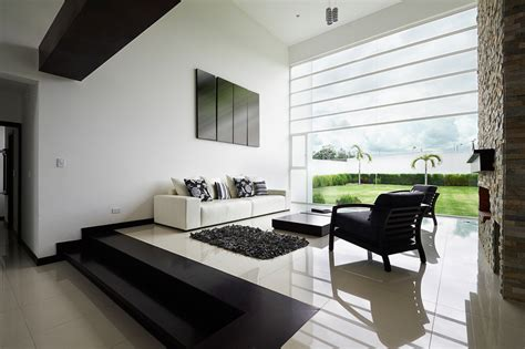Sleek Living Room Ideas sleek black and white living room ideas interior design ideas