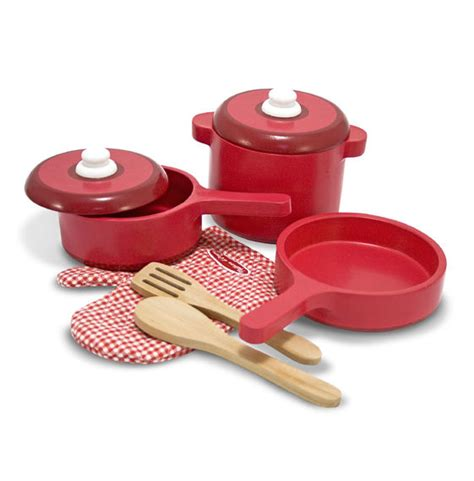 Play Kitchen Pan Set Play Kitchen Accessory Set Pot Pans Doug