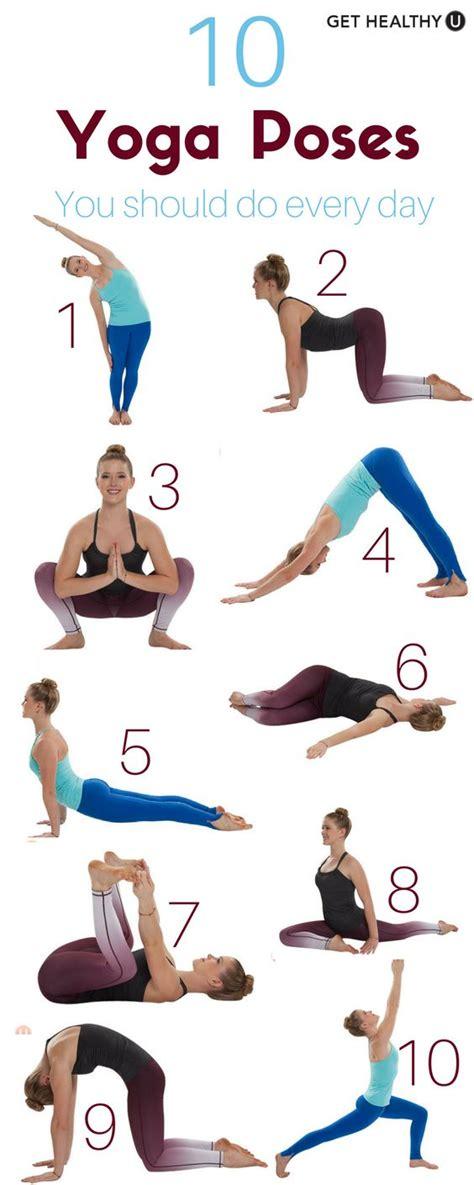 you are a and other poses books 10 poses you should do every day fitfor you
