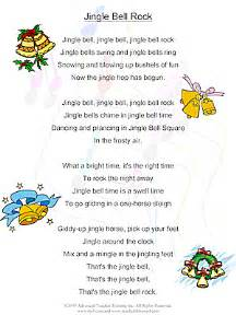christmas quot jingle bell rock quot free esl song