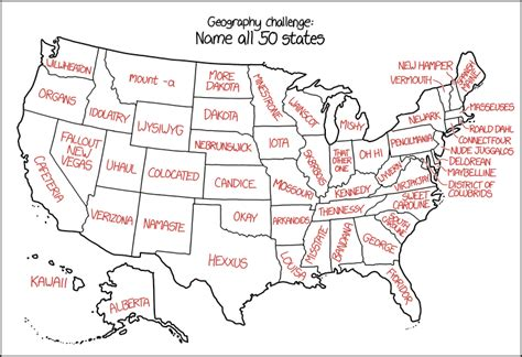 us map states acronym xkcd s u s state names the map room