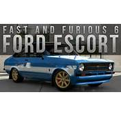Forza 5 Fast &amp Furious Car Build  Brians Ford Escort