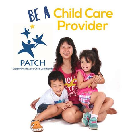 day care oahu be a child care provider provider profiles patch hawaii