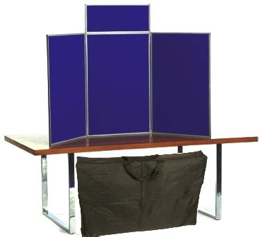 folding display boards and kits panel display stands