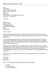 Vice Principal Cover Letter by Office Assistant Cover Letter Simple Sle Cover Letter