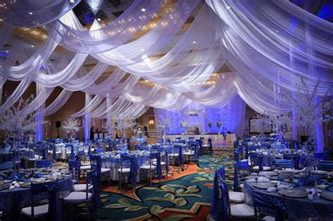 wedding decorations fabric draping photo of the day bridalguide
